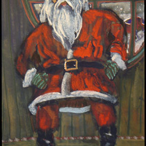 Santa Girds His Loins Before Going Out